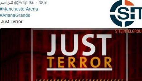Πανηγυρίζει ο ISIS στα μέσα κοινωνικής δικτύωσης για την ΑΙΜΑΤΟΧΥΣΙΑ στο Manchester Arena