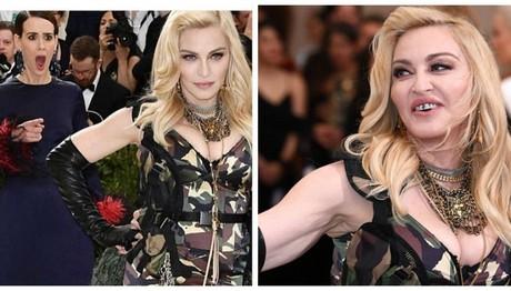 Met Gala: Η κιτς εμφάνιση της Μαντόνα- Με στρατιωτικό look και... σιδεράκια από διαμάντια! Τρόλαρε και η ΙΔΙΑ τον εαυτό της