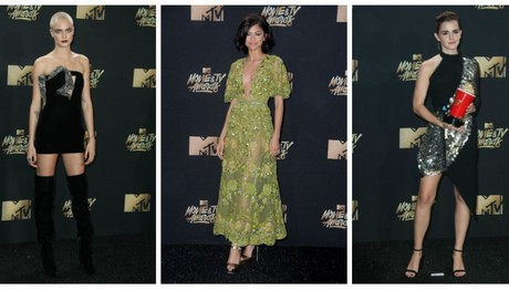 Με... ομπρέλα στο κόκκινο χαλί: ΔΕΙΤΕ τι φόρεσαν οι celebrities στα MTV Movie Awards- ΠΛΟΥΣΙΟ ΦΩΤΟΡΕΠΟΡΤΑΖ