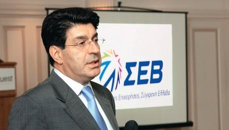 Πρόεδρος ΣΕΒ: «Η ολοκλήρωση της 2ης αξιολόγησης είναι μία εξαιρετικά θετική εξέλιξη»