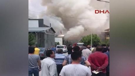 IΣΧΥΡΗ έκρηξη στην Άγκυρα-Δυο νεκροί