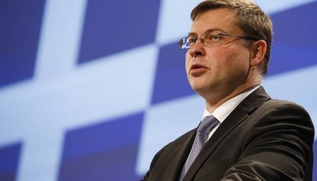 Ντομπρόβσκις: Η εκταμίευση είναι απαραίτητη για τη διατήρηση της οικονομικής ανάκαμψης στην Ελλάδα