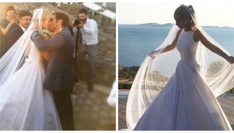 Οι ΝΕΕΣ ΦΩΤΟ της Δούκισσας Νομικού από το γάμο της και το τρυφερό κείμενο: «Και κάπως έτσι άρχισαν όλα…»