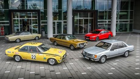 Η Opel γιορτάζει τα 50 xρόνια του Commodore στο Silvretta Classic