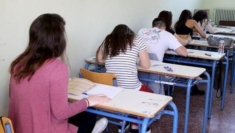 Σε πέντε μαθήματα εξετάζονται οι υποψήφιοι των ΕΠΑΛ