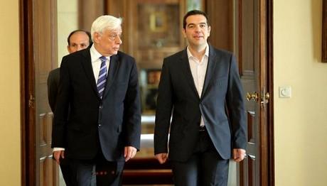 Στον Παυλόπουλο ο Τσίπρας για το Eurogroup