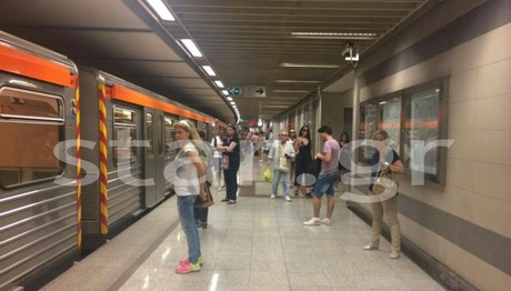 ΑΠΟΚΑΤΑΣΤΑΘΗΚΕ η βλάβη στη γραμμή 2 του μετρό- Κανονικά δ