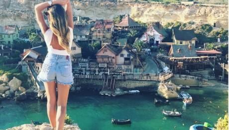 Αναστάτωσε την Μάλτα η Αθηνά Οικονομάκου