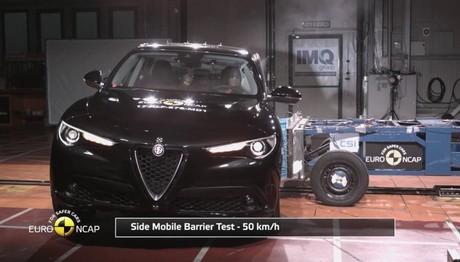 Δείτε πόσο ασφαλής  είναι η Alfa Romeo Stelvio στις δοκιμές πρόσκρουσης Euro NCAP
