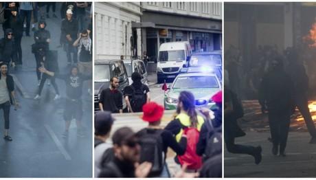 G20: Aστυνομικός έριξε προειδοποιητική βολή