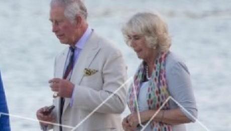O Πρίγκιπας Κάρολος και η Καμίλα στην Κέρκυρα