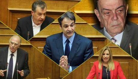 Πολιτικοί αρχηγοί κόμματα Μίνως Κυριακού
