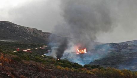 Προσοχή! Πολύ υψηλός κίνδυνος πυρκαγιάς και σήμερα