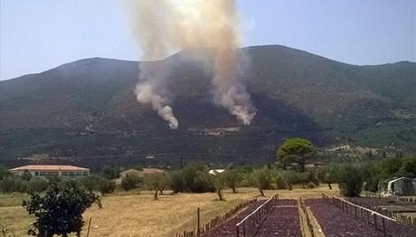 Ζάκυνθος: Μαίνεται η πυρκαγιά