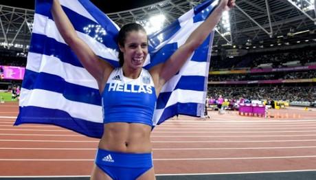 Η Στεφανίδη υποψήφια κορυφαία αθλήτρια της χρονιάς