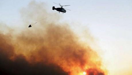 Φωτιά στην Αλεξανδρούπολη