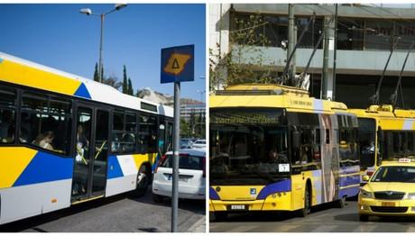 Στάση εργασίας την Πέμπτη σε τρόλεϊ και λεωφορεία