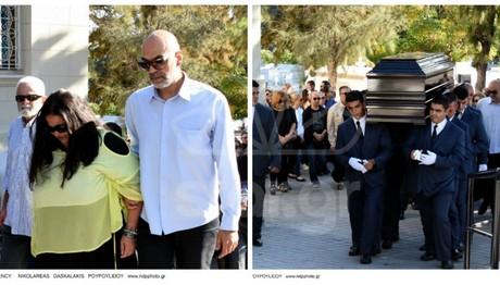 Η κηδεία της ηθοποιού έγινε σε βαρύ κλίμα