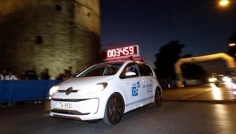Η Kosmocar-Volkswagen «έτρεξε» στο  Νυχτερινό Ημιμαραθώνιο Θεσσαλονίκης