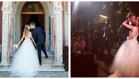 Η Rachel ντύθηκε νύφη