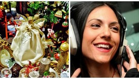 Η Ανθή Βούλγαρη στόλισε για τα Χριστούγεννα