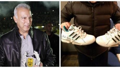 Ο Γκάλης δίνει τα παπούτσια του για τον 5χρονο Χριστόφορο