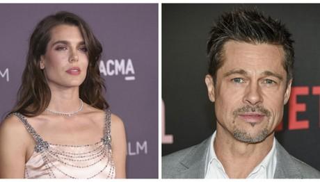Brad Pitt: Ζευγάρι με την Charlotte Casiraghi