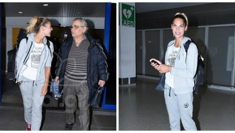 Στο αεροδρόμιο η παίκτρια του Nomads