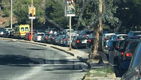 Κυκλοφοριακό χάος στους δρόμους λόγω Ερντογάν
