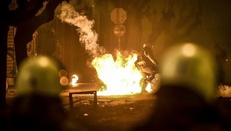 25 προσαγωγές 5 συλλήψεις για επεισόδια στο Γρηγορόπουλου