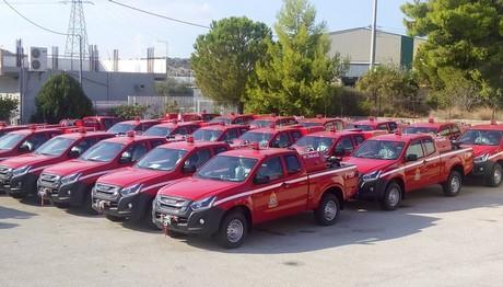 Δείτε πόσα ISUZU D-MAX Extended Cab  πήρε η πυροσβεστική