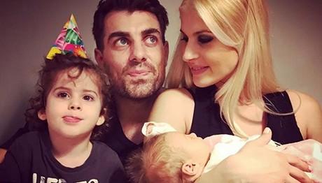 Χανταμπάκης και Πηλιάκη γιόρτασαν τα γενέθλια της Μαλένας