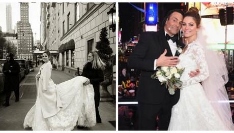 Μαρία Μενούνος: Δείτε φωτο από τον γάμο της!