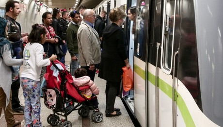 Απεργία στο μετρό, το τραμ και το τρόλεϊ