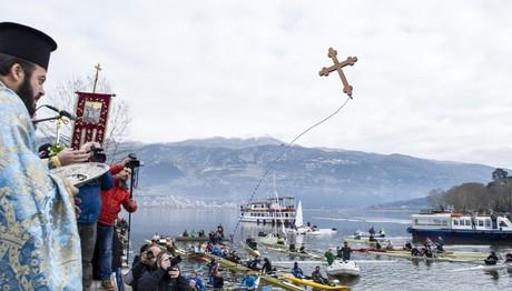 Θεοφάνεια 2018: Αγιασμός των υδάτων στα Ιωάννινα