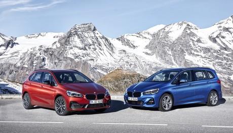 Σε ποια σημεία αλλάζουν οι BMW σειρά 2 Active Tourer και σειρά 2 Gran Tourer