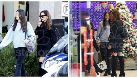 Η Βανδή με τη Μελίνα για ψώνια