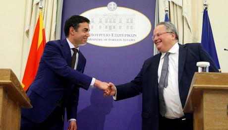 Τι συζήτησαν οι Υπουργοί Εξωτερικών Ελλάδας και FYROM στη