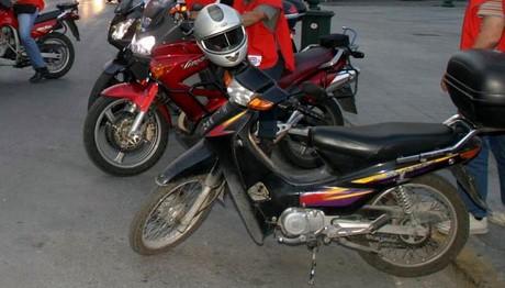 Μειώθηκαν οι ταξινομήσεις των μοτοσικλετών πάνω απο 50 cc