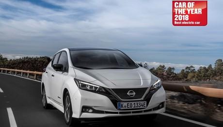 Το Nissan LEAF  «τσίμπησε»  και άλλο βραβείο
