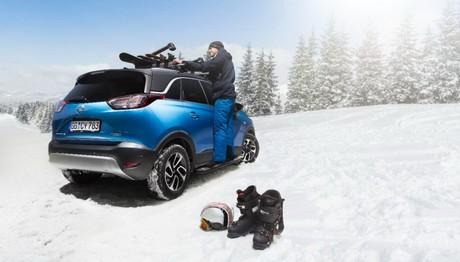Δείτε  με ποια αξεσουάρ μπορείτε να προικίσετε το Opel  Crossland X