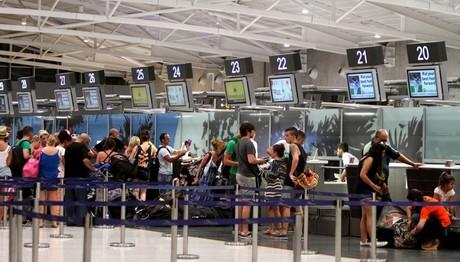 Ρεκόρ οι αφίξεις στα αεροδρόμια το 2017