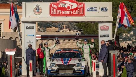 Νίκη για το SKODA Fabia R5 στο Ράλλυ Μόντε Κάρλο στη WRC 2