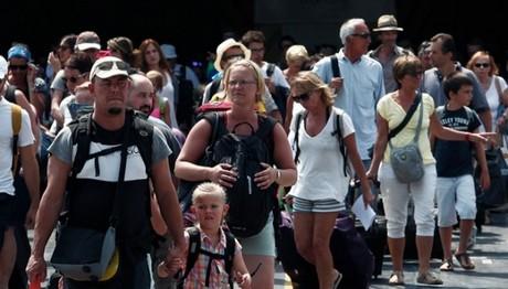 Μεγαλύτερο το ταξιδιωτικό πλεόνασμα στο εννεάμηνο του 201