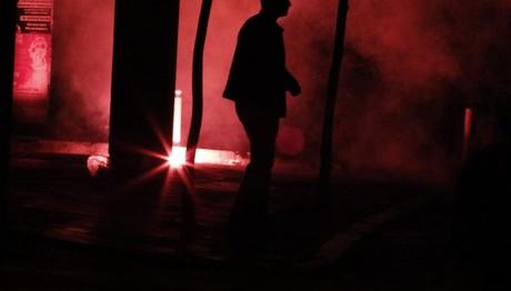 Μολότοφ γύρω από το Πολυτεχνείο το βράδυ της Παρασκευής