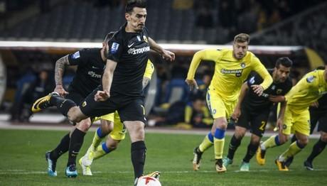 Η ΑΕΚ νίκησε με 1-0 τον Αστέρα Τρίπολη