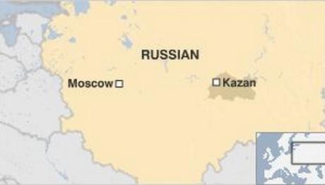 Πυροβολισμοί στο Καζάν στη Ρωσία