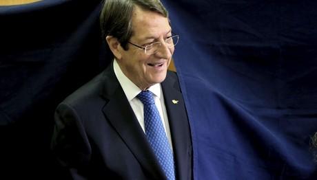Μεγάλη νίκη Αναστασιάδη στις προεδρικές εκλογές της Κύπρο
