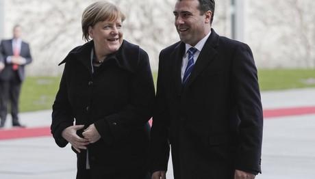 Συνάντηση Μέρκελ με Ζάεφ στο Βερολίνο
