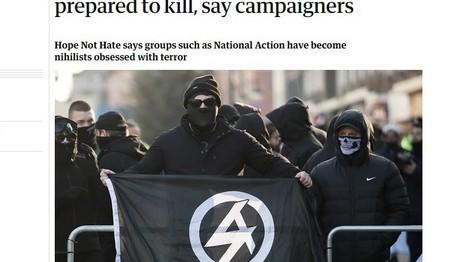 Φασίστες της Βρετανίας θέλουν να σπείρουν τον θάνατο